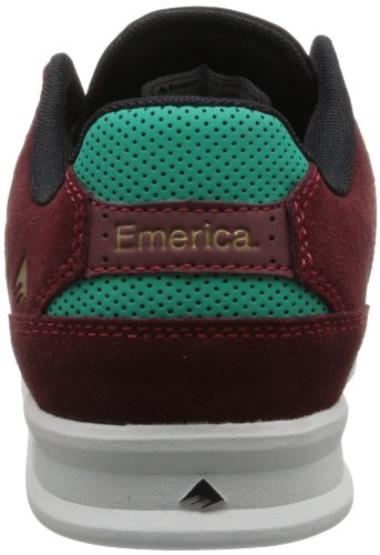 Emerica The Reynolds Low, Baskets Uomo Rosso (rouge Sang)