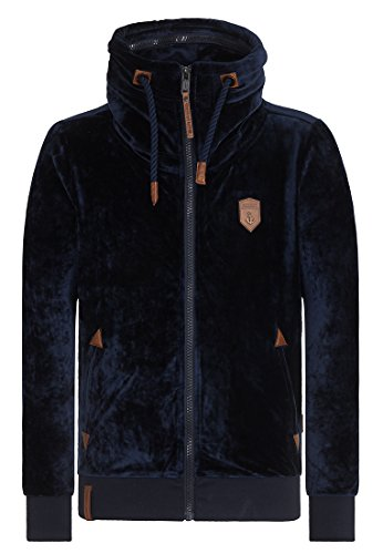 Naketano Male Zipped Jacket Ivic Mack IV Dark Blue