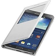 Samsung S-View Induktive Drahtlose Wireless Ladehülle Case Cover für Samsung Galaxy Note 3 - Weiß