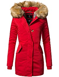 official photos fe2a7 0227d Amazon.it: cappotto rosso donna - XS / Donna: Abbigliamento