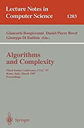 Algorithms and Complexity: Third Italian Conference, CIAC'97, Rome, Italy, March 12-14, 1997, Proceedings