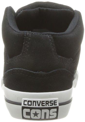 Converse Conv Gates Mid, Baskets mode mixte enfant Noir (Noir/Blanc)