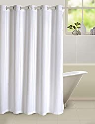Swayam Curtain Concept Plain Polyester Premium Shower Curtain - 72