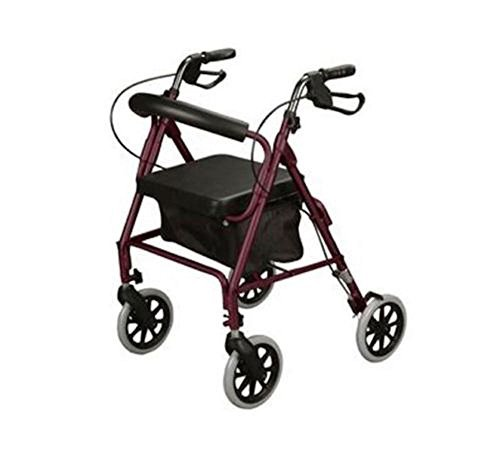 cardinal-health-rollator-rolling-walker-with-medical-curved-back-soft-seat-burgundy-by-cardinal