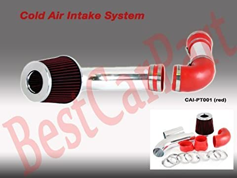 88 89 Pontiac Firebird Formula/trans Am Cold Air Intake Red ( Included Air Filter) #Cai-pt001r by High performance parts