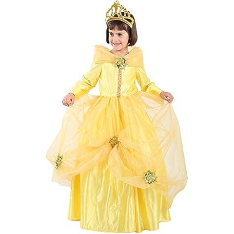 Disfraz de princesa Bella niña Talla 12 neutro