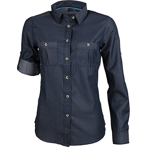 Roll-up-shirts 2 ärmel 1 Damen (High Colorado Taormina 2 Roll-Up Bluse Damen navy denim Größe 44 2018 Hemd 1/1)