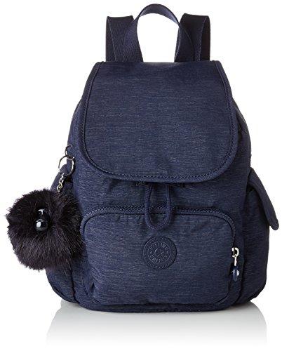 Kipling City Pack Mini, Sacs à dos femme, Bleu (Spark Night), 14x27x29 cm (B x H T)