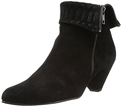 Emma Go Elroy, Boots femme - Noir (Velour Black Snake Black), 36 EU