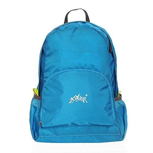 MCTECH 25L Zaino Trekking Usa come borsa da viaggio per Sportivo Outdoor per campeggio alpinismo arrampicata Viaggio Bicicletta (Blu) Blau (Blue)