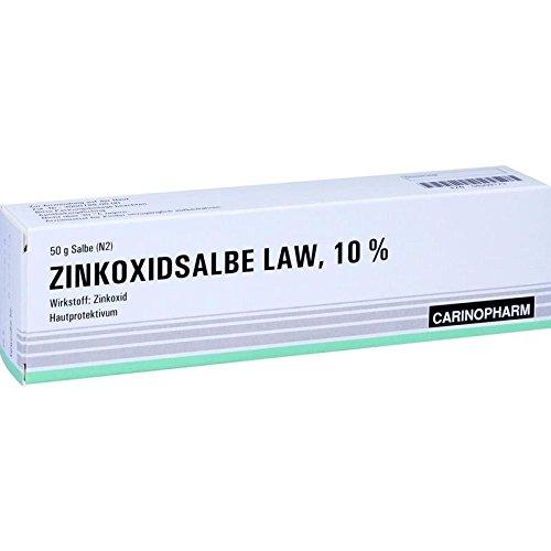 Zinkoxid Salbe Law 50 g