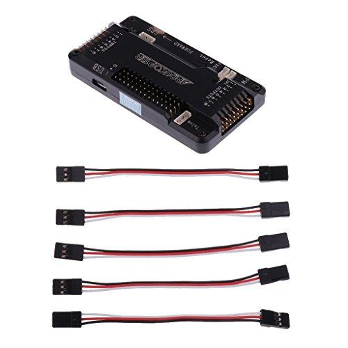 Apm2.8 Carte Controleur De Vol W / Connecteur Cote Broches Pour Mega ArduPilot 2.8