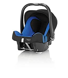Britax Baby-Safe Plus SHR II Infant Carrier - Group 0 + (Birth - 12/15 Months), Blue Sky