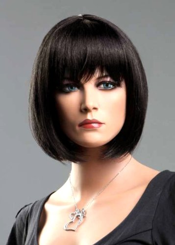 Forever Young Ladies Short Dark Brown Wig! Classy Bob Style from Premium VOGUE Wigs UK by Forever Young