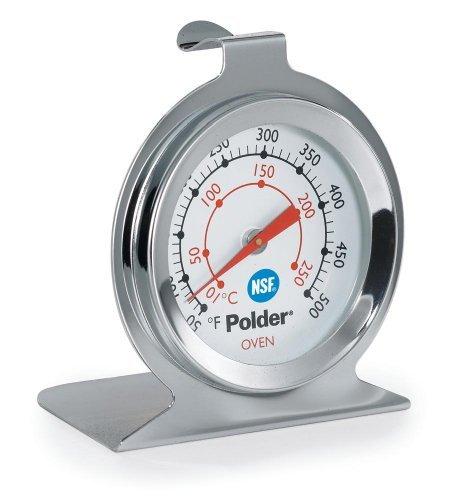 Polder Digitales Ofenthermometer, Ofen-Thermometer Aus Edelstahl von Polder Digitales Ofenthermometer -