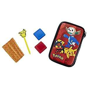 Offizielle Nintendo New 3DS XL / 3DS XL – Tasche/Hülle | 4 Motive aus Pokemon Sonne und Mond zu Auswahl | Schützt den Nintendo 3DS