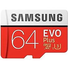 Samsung MB-MC64DA/EU Evo Memoria RAM da 64GB, Adattore SD