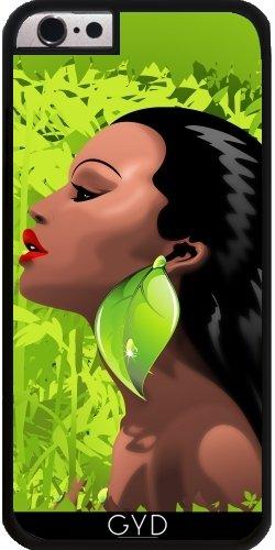 Coque pour Iphone SE - Femme Africaine Beauté Et Bambou by BluedarkArt Plastique Rigide