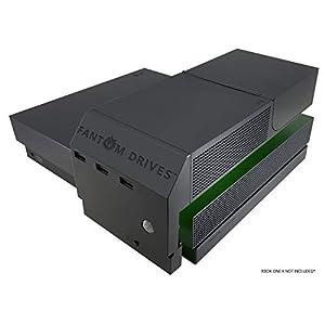 Fantom Laufwerke 2 TB Xbox One X SSHD (Solid State Hybrid Drive/SSD+HDD) schwarz 8TB