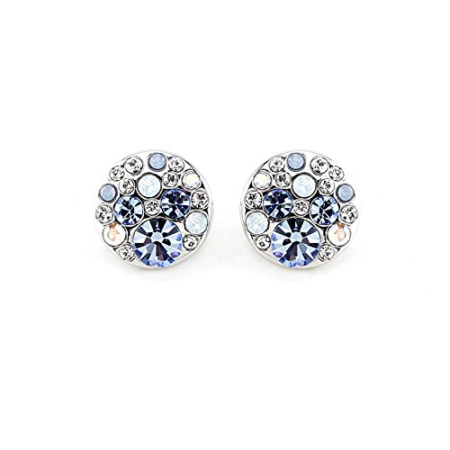 park-avenue-ohrstecker-disc-multicolor-hellblau-made-with-crystals-from-swarovski
