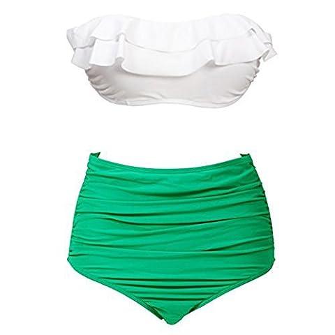 Wearlizer - Maillot de bain deux pièces - Femme Green
