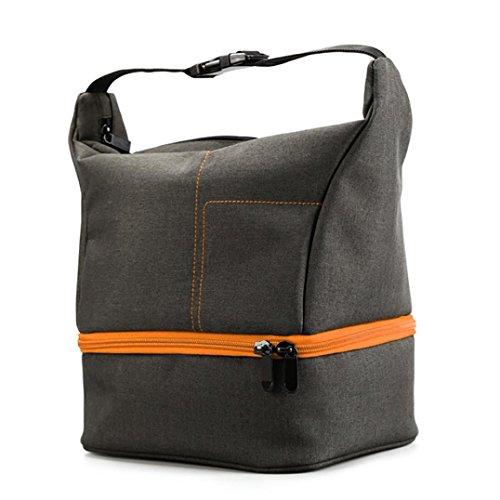 Bescita Reise Rucksack Tasche wasserdichte Kameratasche Handgepäckstück für Canon Orange