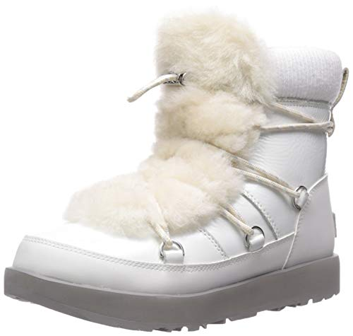Ugg Lace Up Boots (UGG Highland Waterproof Boot White (36 - White))