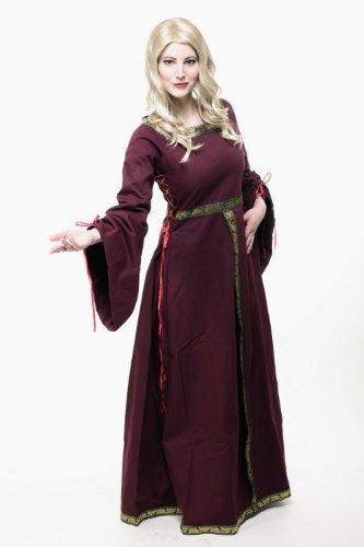 Kostüm Damen Damenkostüm Kleid Mittelalter Romanik Gotik Gothic Burgfräulein L054 Gr. 46 / L - 7