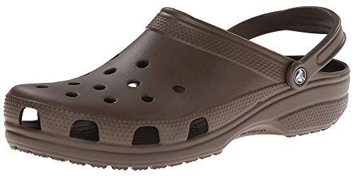 crocs Classic Clogs Chocolate Schuhgröße EU 38-39 2019 Sandalen - Chocolate Brown Croc