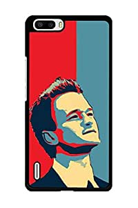 Caseque Barney Stinson Back Shell Case Cover for Huawei Honor 6 Plus