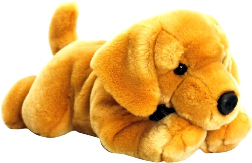 Keel Toys 64573 - Cane labrador di peluche, 35 cm