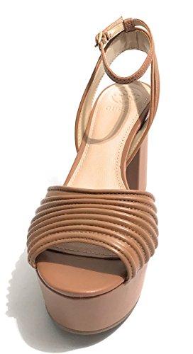 INDOVINA Ladies nero/oro Scarpe con cinturino