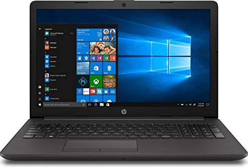 HP 255 G7 (15,6 Zoll FullHD matt) Laptop (AMD Ryzen 3 2200U 2.50GHz DualCore, 8GB RAM, 256 GB M.2 SSD, AMD Radeon Vega 3, WLAN, Bluetooth, HDMI, USB 3.0, DVD-Brenner, Windows 10 Pro) schwarz