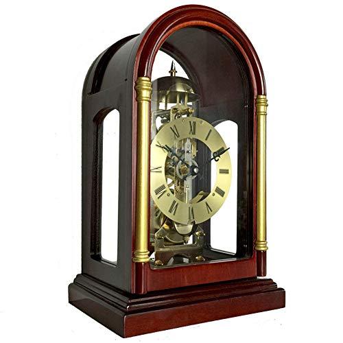 BGGZXX Reloj De Engranajes Retro Reloj De Soporte Reloj De Cuarzo, Mecánico Sencillo Puntero De Metal Durable, Dormitorio Sala De Estar