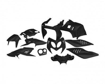 Preisvergleich Produktbild Verkleidungskit STR8 Aerox Nitro - 11 Teile - schwarz
