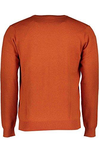GANT Herren Pullover Cotton Wool Crew orange 890