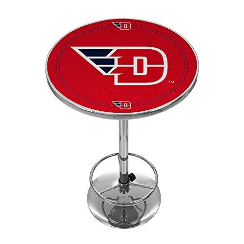 Trademark Gameroom NCAA Universität Dayton Chrom Pub Tisch - Metall Runde Pub Tabelle