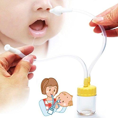 Cenblue Neu Geboren Baby Nasensekretsauger - Sicherheit Nase Reiniger Vakuum Saug, Krankenhaus Best Grade Nase Sucker zu löschen Schleim und Hilfe Kind atmen