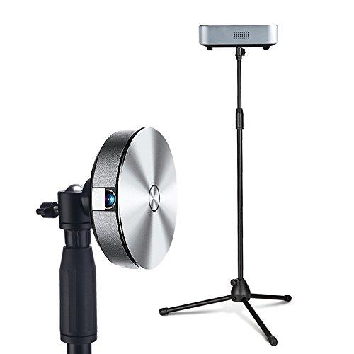 Mini Projektor Stativ, Beamer Ständer mit 1/4 Schraubengewinde - 1,5 Meter Höhe