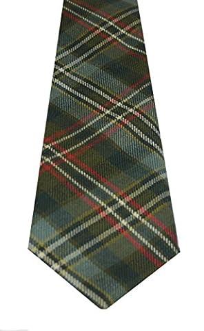 Lochcarron of Scotland Scott Green Weathered Tartan Tie
