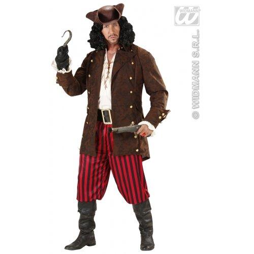 Widmann Piratenjacke - Blackbeard Kostüm Für Erwachsene