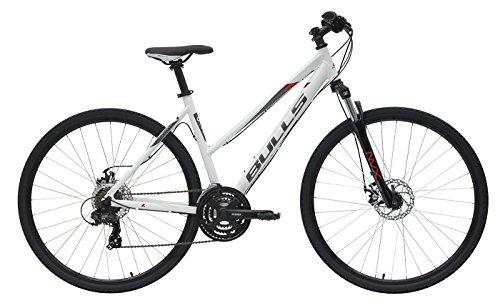 Damen Fahrrad 28 Zoll weiß - Bulls Wildcross Crossbike - Shimano Schaltung 21 Gänge