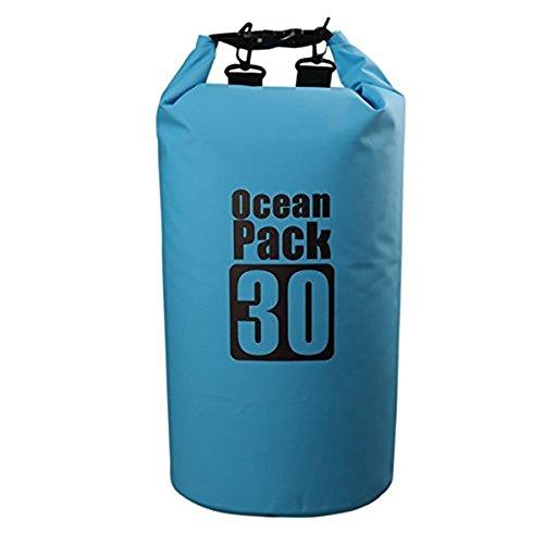 Asvert Premium wasserdichte Tasche Trockentasche Dry Bag Wasserdichter Sack Wasserfester Packsack Bunte Multi Standard lange Verstellbarer Schultergurt enthalten Trockenbeutel perfekt für Bootfahren Wandern Kajaken Kanufahren Angeln Schwimmen Skifahren Snowboarden usw, ( 2L, 5L, 10L, 15L, 20L, 30L )