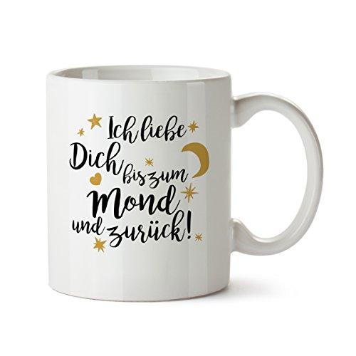 Mond Altes Shirt (Kaffeebecher weiß Motiv
