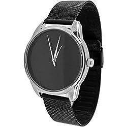 Zeigt weißer, Armband aus Metall-White & Black