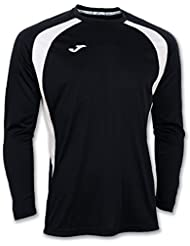 Joma - Camiseta champion iii negro-bco m/l para hombre