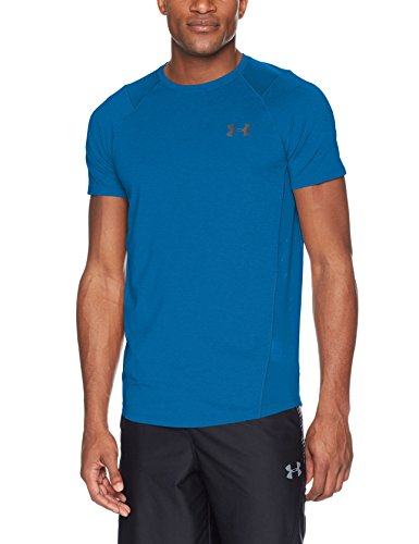 Under Armour Mk1 SS EU SMU, kurzärmliges Shirt für Herren S Mehrfarbig (Under Armour Mesh-jersey)