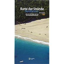 Carta delle spiagge della Sardegna. Ediz. tedesca