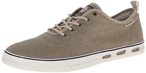 Columbia Vulc N Vent Lace Sneaker, Uomo, Bianco (103), 10