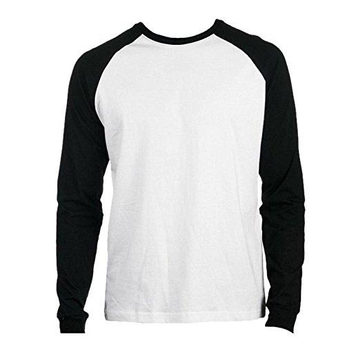 Promodoro - Baseball Shirt Heavy Jersey XL,White/Black